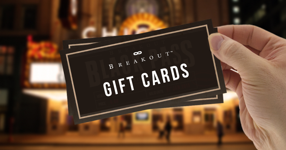 breakout gift cards | Buy Now and try escape room dix30